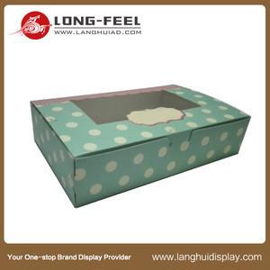 China supplier new product candies Chocolate black custom paper box hamburger