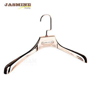 Coat hanger for high street brands solid plastic cloth hanger clothing hanger rack