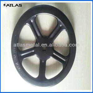 Custom five spoked sheet valve control handwheel fabrication