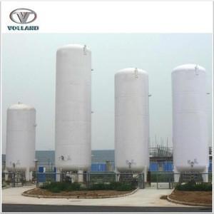 Customized LNG Gas Storage Tank/50000 liter liquid oxygen tank/cryogenic container for liquid nitrogen