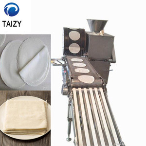 Egg Grain Tortilla Injera Wrapper Spring Roll Making Machine,Ethiopia injera making machine