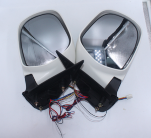 Electric Reflector Rearview Mirror Side Mirror Exterior With Led Light For Toyota Hiace