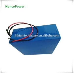 Factory price 48V 100Ah 1KWh rechargeable bicycle battery pack