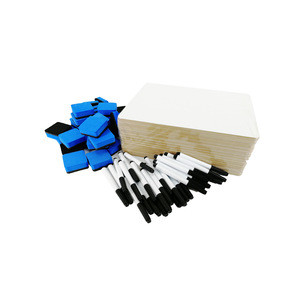 Frameless Drawing Dry Erase Erasable Mini Magnet White Board For Kids Room