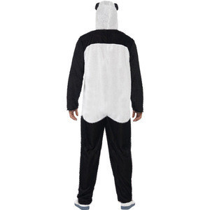 Halloween mascotte plush pajamas suit head fancy dress kungfu mascot adult man panda costume