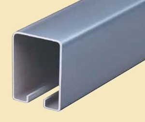 HANGING DOOR ROLLERS FOR WOODEN DOOR USED AT A WAREHOUSE ETC WITH OTHER RELATIVE PARTS.