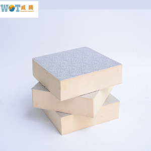 High Density Wall Insulation Panel Phenolic Foam Board with Aluminum Foil Coated