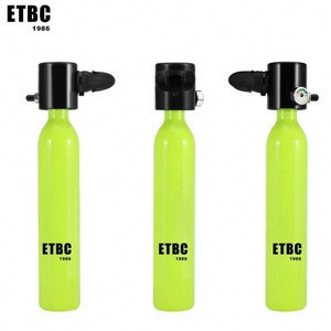 High Quality oxygen cylinder portable scuba diving tank diving equipment diving mini tank