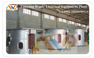 Industrial electric furnace for glass bottles