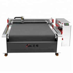Jinan factory carton packaging box machine cardboard cutting machine