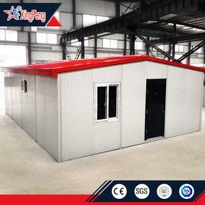 Log Cabin Mobile Home/Wooden House Storage Shed/Grade 9 Earthquake Steel Frame Prefab House Proof Granny Flat