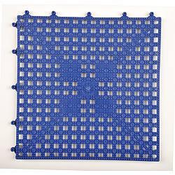 Modular Drainage Mat Blue 12x12 In.