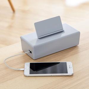Multi Power Plug Socket Anti-dust Storage Box Wire Cord Cable Organizer Case Box