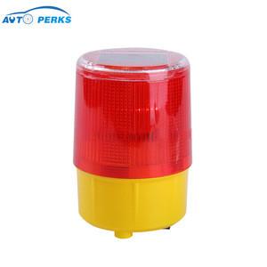 Plastic Flashing Traffic Barricade Signal Warning Light