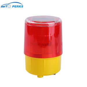 Plastic Flashing Traffic Barricade Signal Warning Light