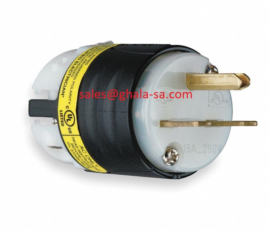 Plug 6-15P 15A 250V 0001