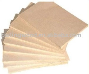 Plywood for furniture parts
