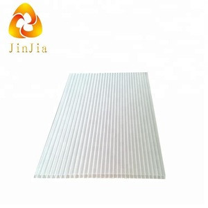 Polythene pe material transparent plastic corrugated roofing sheets