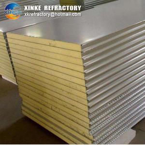 Rockwool board 200mm heat insulation rock wool mineral wool plate/ slab/ ceiling panel