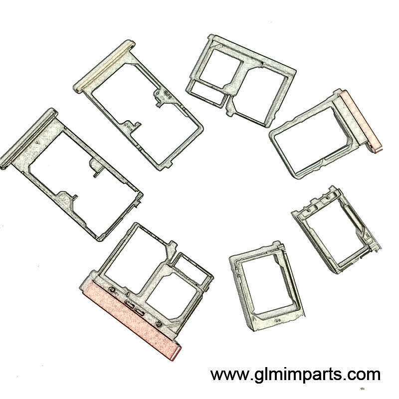 Stainless Steel SIM Card Tray Holder by MIM Processing