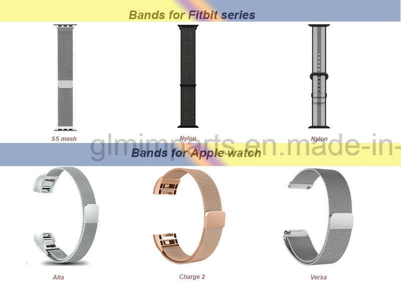Stainless Steel Watch Bands Watch Bracelet for Apple Watch Fitbit Watch