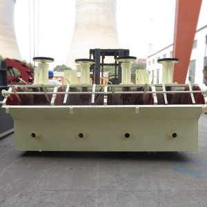 The air flotation machine for lead ore / zinc benefication