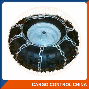 Truck tire protection chain