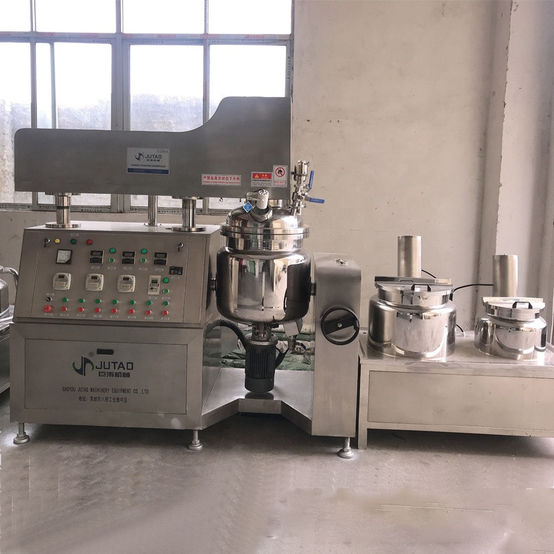 Vacuum Emulsifying Mixer for Viscous Fluid Petroleum jelly production line machine