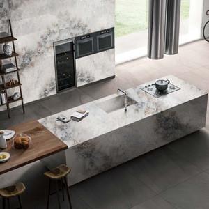 White marble coffee artificial quartz stone calacatta gold laminate countertop worktop vanity table top