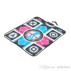 With English Song HD Non-Slip Dancing Step Dance Mat Pad Pads Dancer Blanket Fitness Equipment Revolution Foot Print Mat
