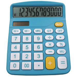 Y-1301 12 digit electronic general purpose calculator solar