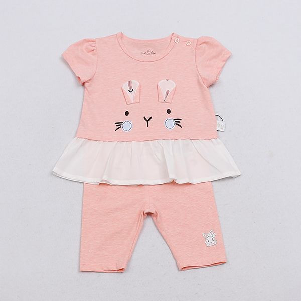 Baby Short Sleeve Cloth Set Girl Wear Girs Clothes