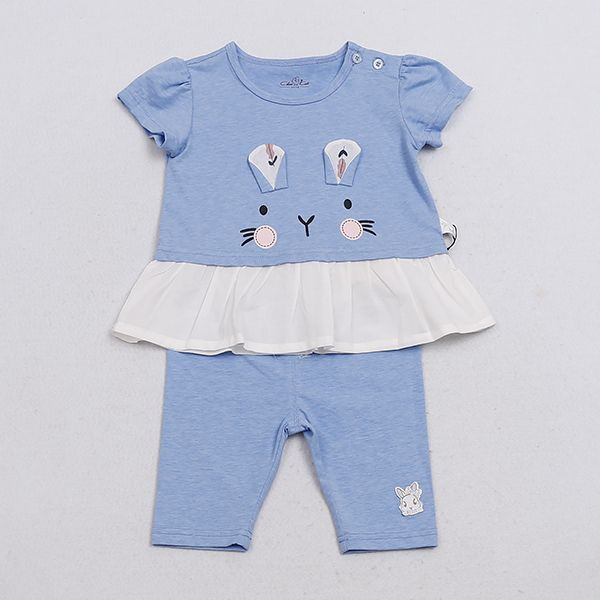 Import Baby Short Sleeve Cloth Set Girl Wear Girs Clothes from China