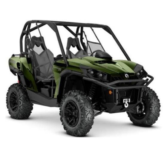 2020 Can-Am Commander XT 1000R Boreal Green