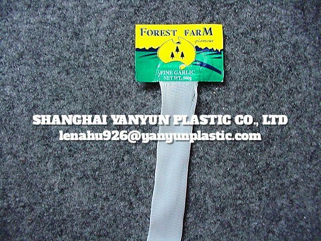 Plastic PE Net Mesh Bag for Fruit Vegetable Garlic