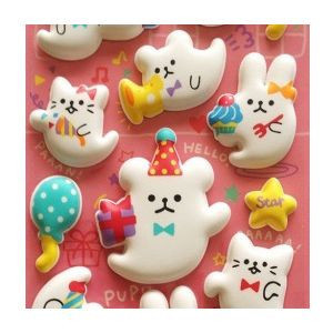 Kawaii 3D Pop up Sticker Supplier