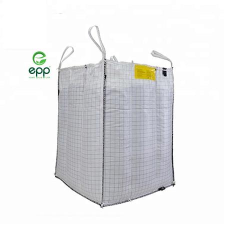 EPP BAFFLE BIG BAG Q TYPE JUMBO BAG Q BAG 500kg 1000kg 2000kg BAFFLED BULK BAG FIBC BAG