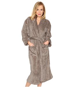 100% Polyester microfiber coral fleece bathrobe