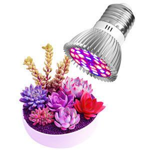 18W 28W Led Full Spectrum Light E14 Led Growing Lamp E27 Led Plant Growth Bulb 220V For Hydroponics Seed Flower Vegetables