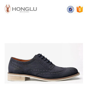 2015 New Arrive Men Dress Shoes, Suede PU Brogue Oxford Shoes For Men