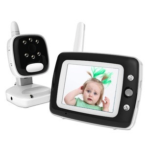 2017 newest 3.5inch wireless digital CCD video baby monitor