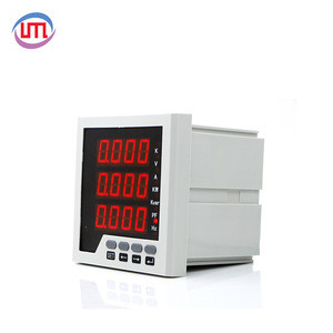 2018 Hot sale 3 Phase multi-function electric digital power meter output 4-20ma