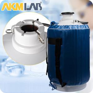 AKMLAB Liquid Nitrogen Tank Container For Transport And Storage