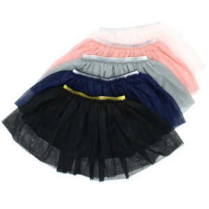 Baby skirt with mesh baby clothes mesh skirt baby 2 years girl clothes
