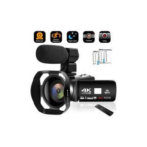 Camcorder 4K HD Video Camera 18X Digital Zoom Camcorder with Portable Handheld