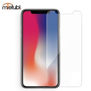 Cell phone flexible tempered glass explosion proof screen protector for iphone X