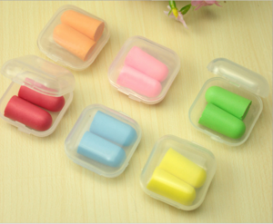 Cheap silicone ear plug/prevent noise earplugs/noise insulation ear
