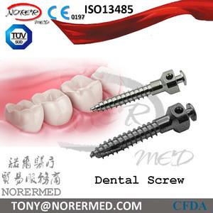 China manufacturer titanium Dental implant