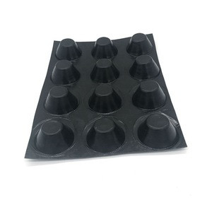 China supply product 8mm plastic hdpe dimple drainage board