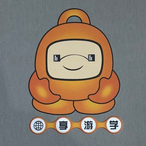 Custom CMYK Heat Transfer Labels Stickers